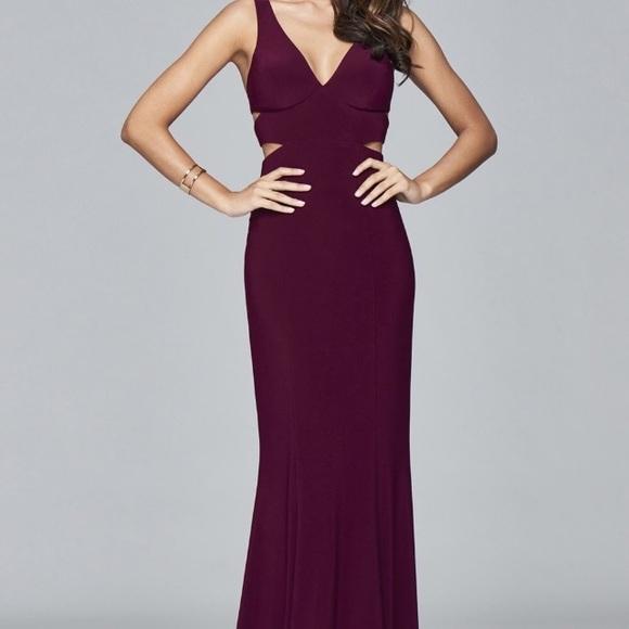 Faviana Dresses | Prom Dress With Side Cutouts | Poshmark
